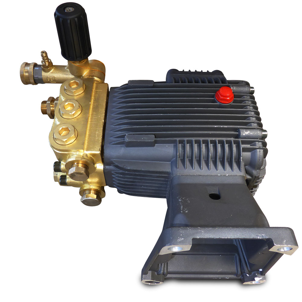High Pressure Piston Pump : High pressure washer water pump psi triple piston