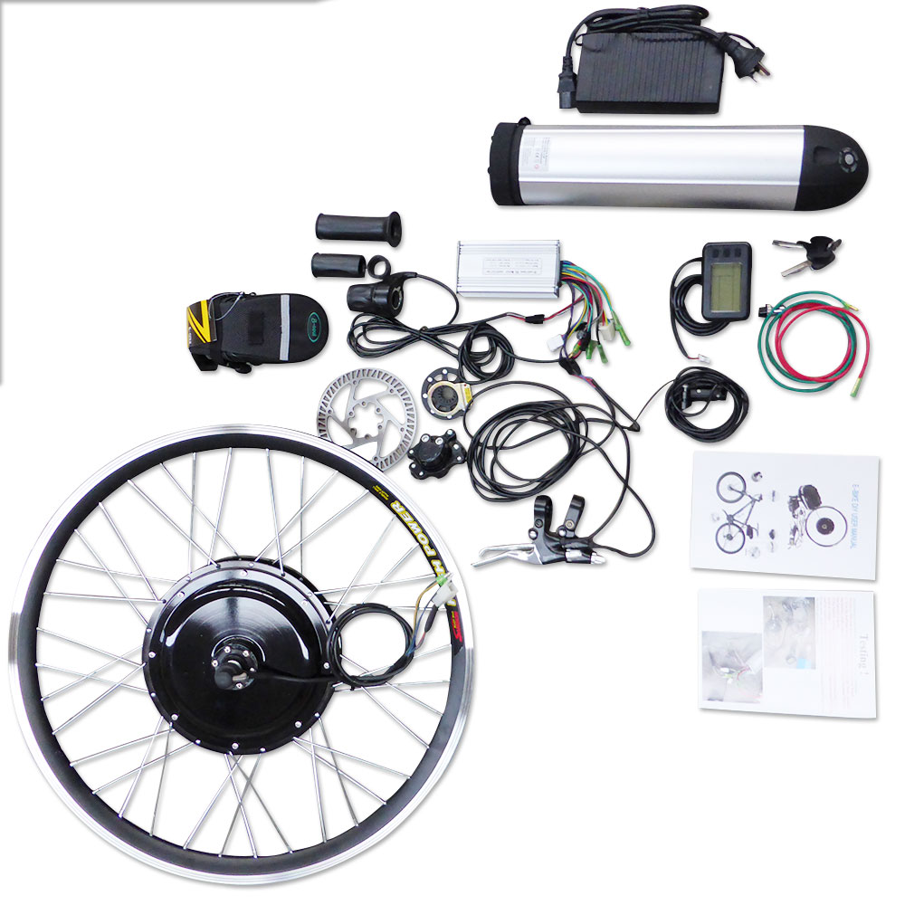 36v 500w E Bike Electric Bicycle Motor Conversion Kit With