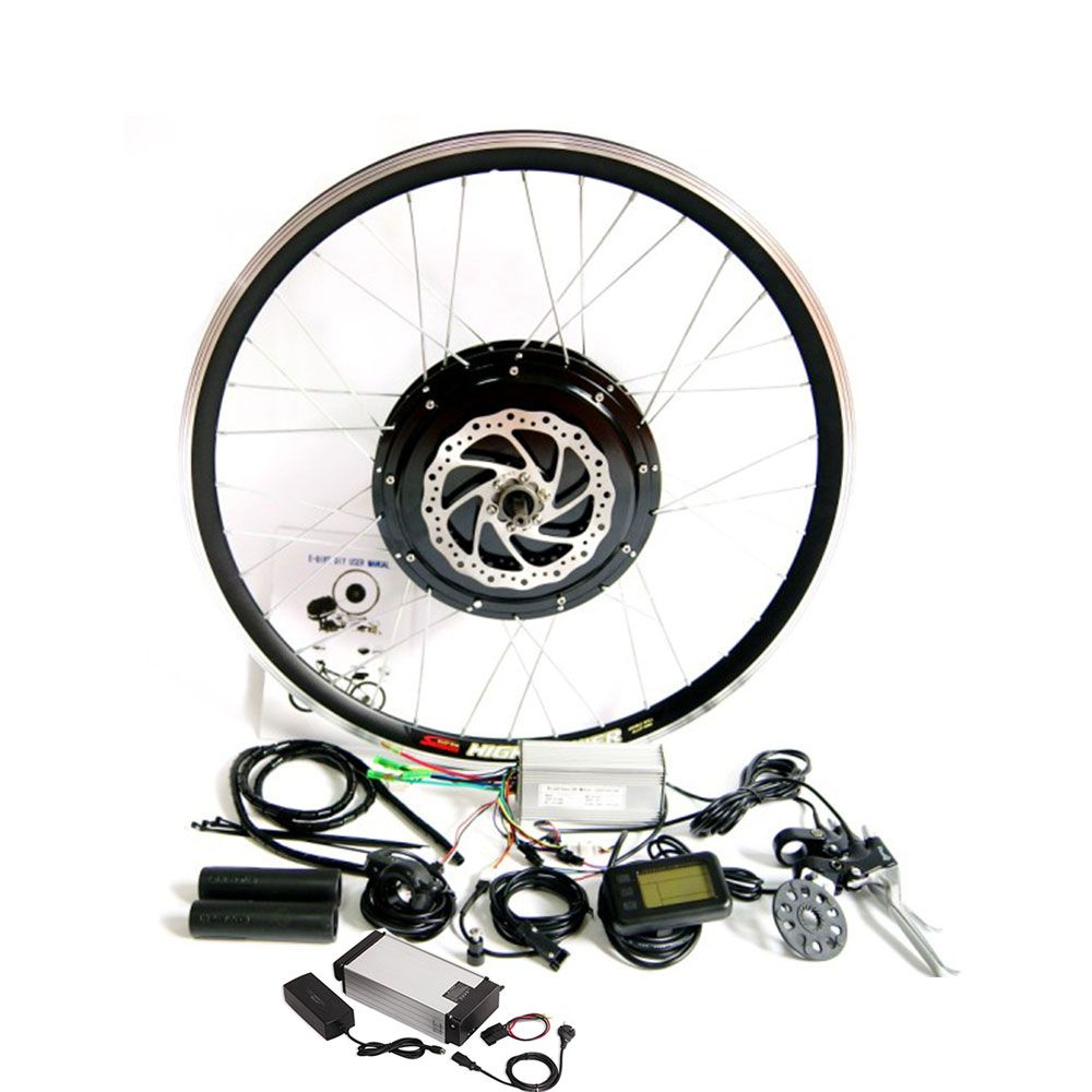 Electric Bicycle Motor Kit With Battery In India: 48V 1000W E-Bike Electric Bicycle Motor Conversion Kit