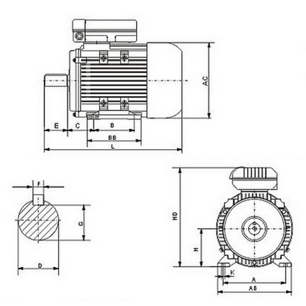 electrical motor single-phase 240v 2.2kw 3hp 2850rpm shaft ... ohio medical air compressor wiring diagram 240v air compressor wiring diagram