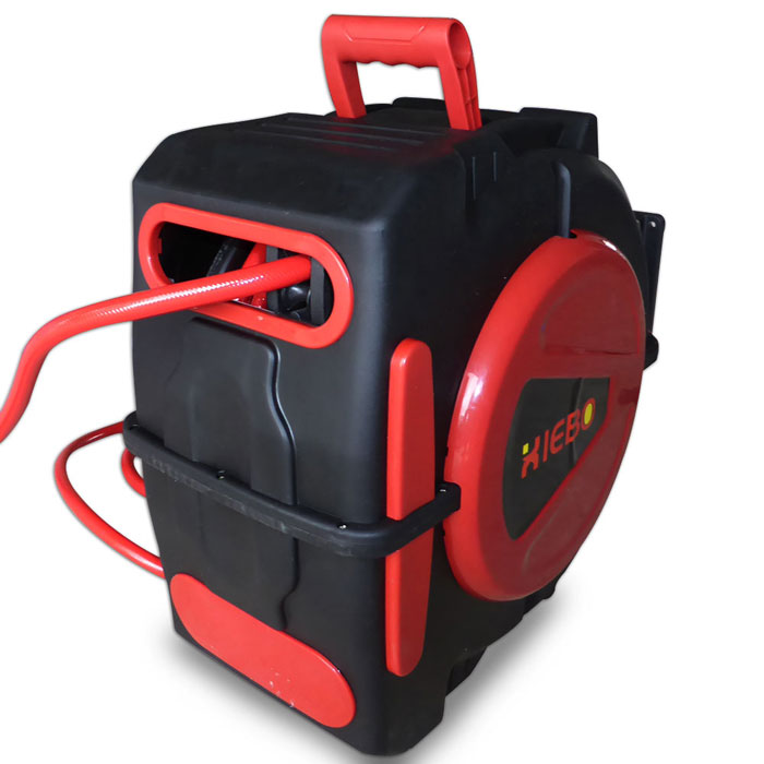 20M Retractable Air Hose Reel Bonus Nitto Fittings Compressor | eBay
