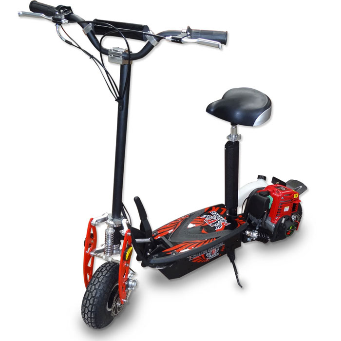 2014 elite 4 stroke 49cc gas motor scooter onoffroad for Motor scooter store near me